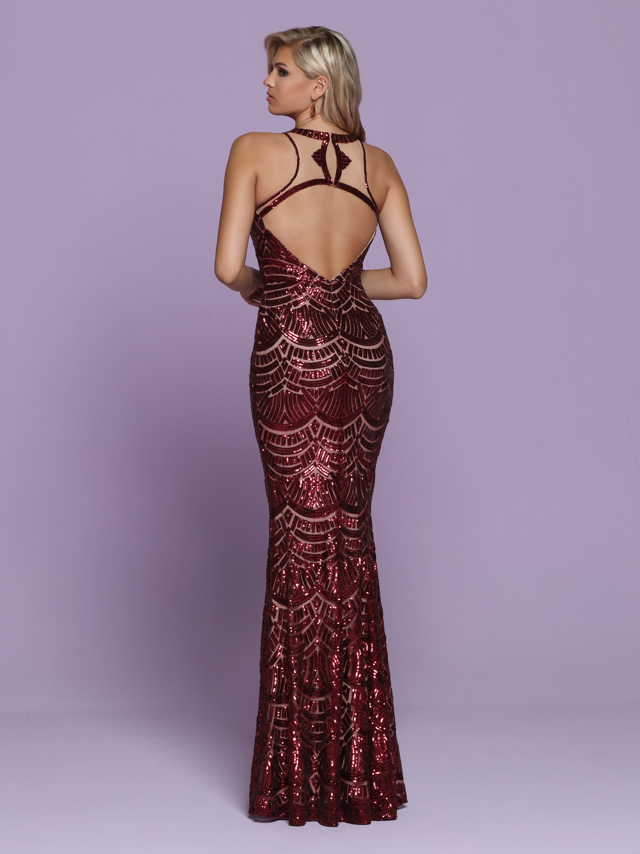 Image showing back view of style #72037