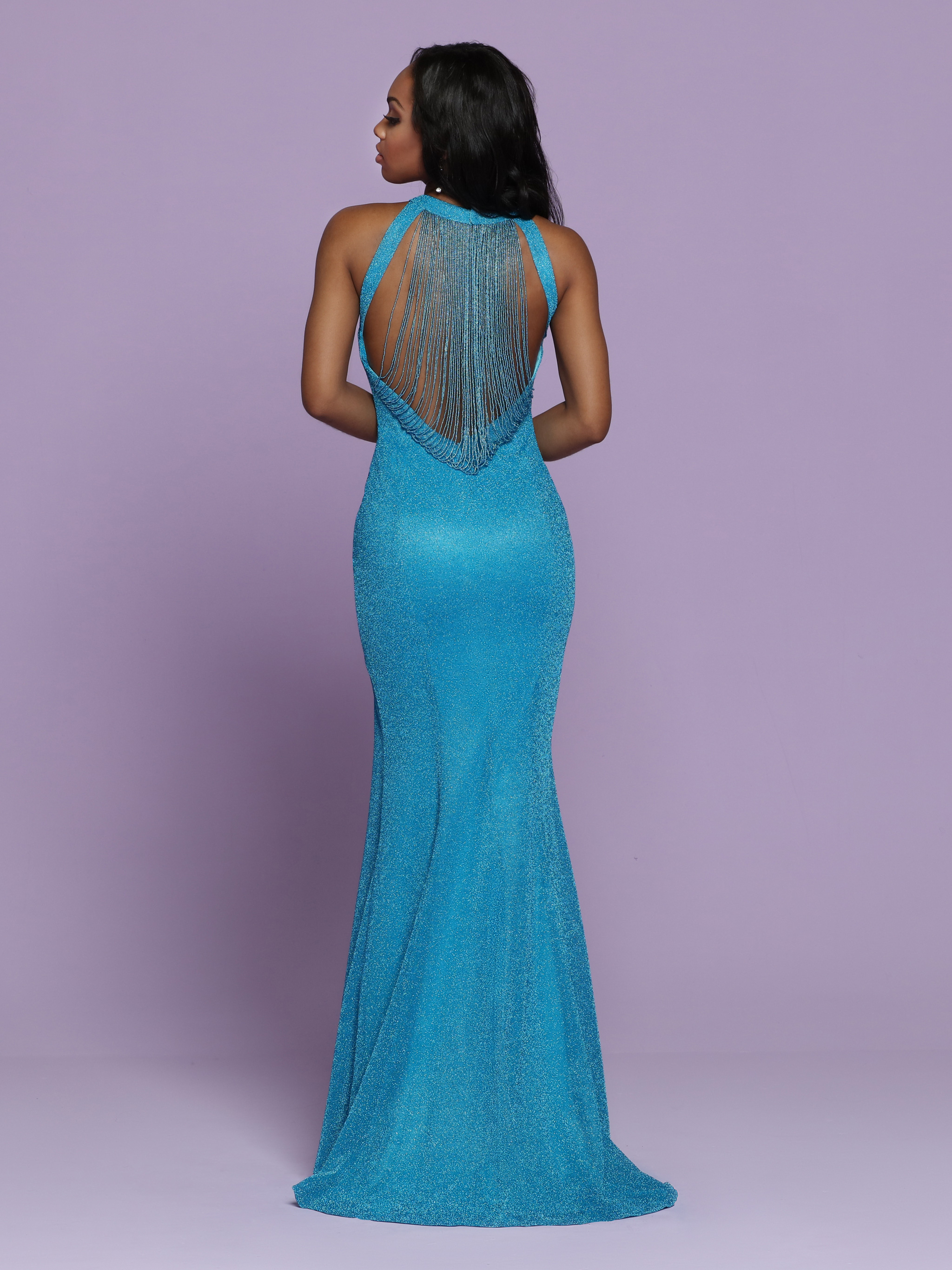Image showing back view of style #72039