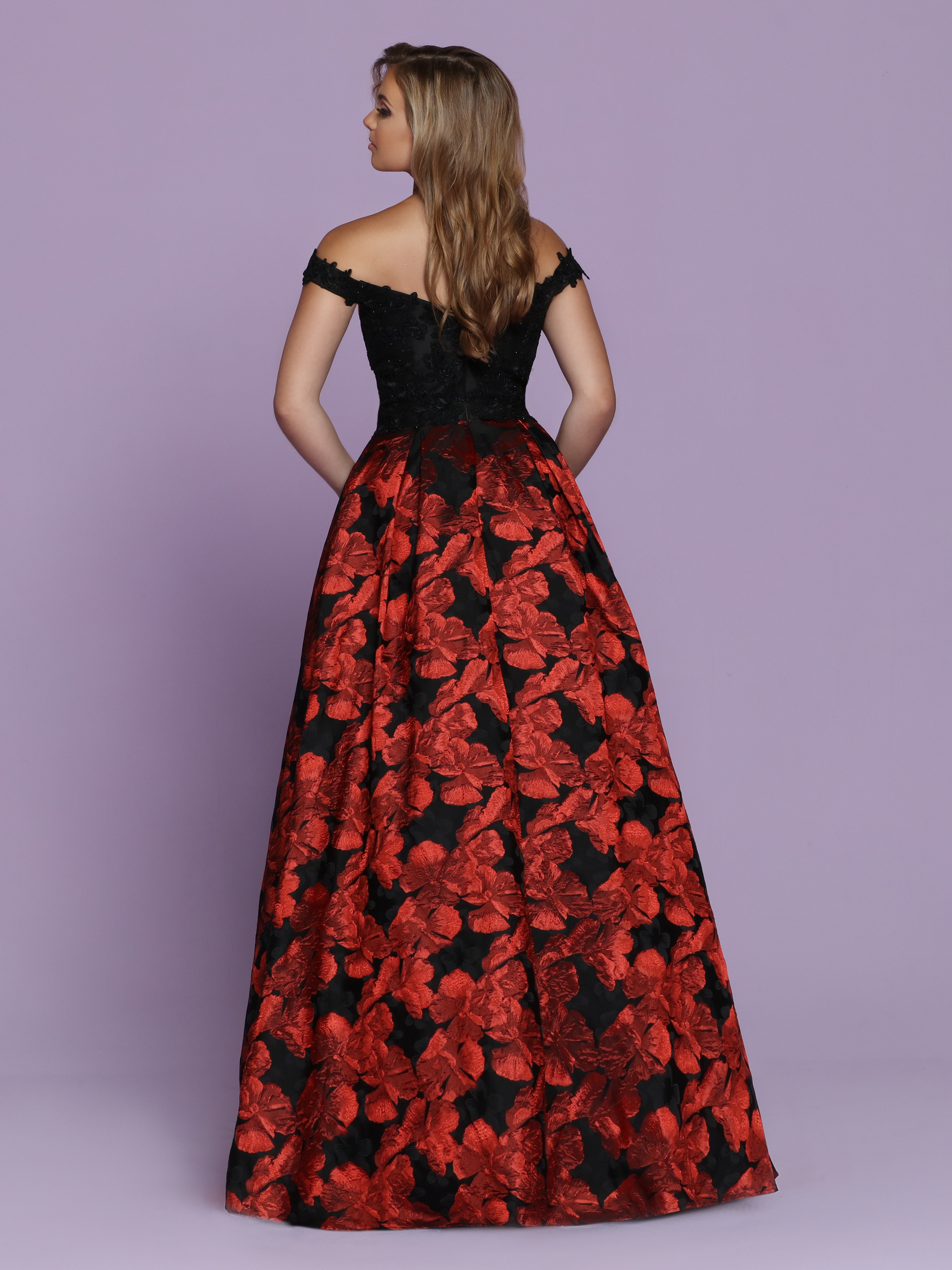 Image showing back view of style #72041