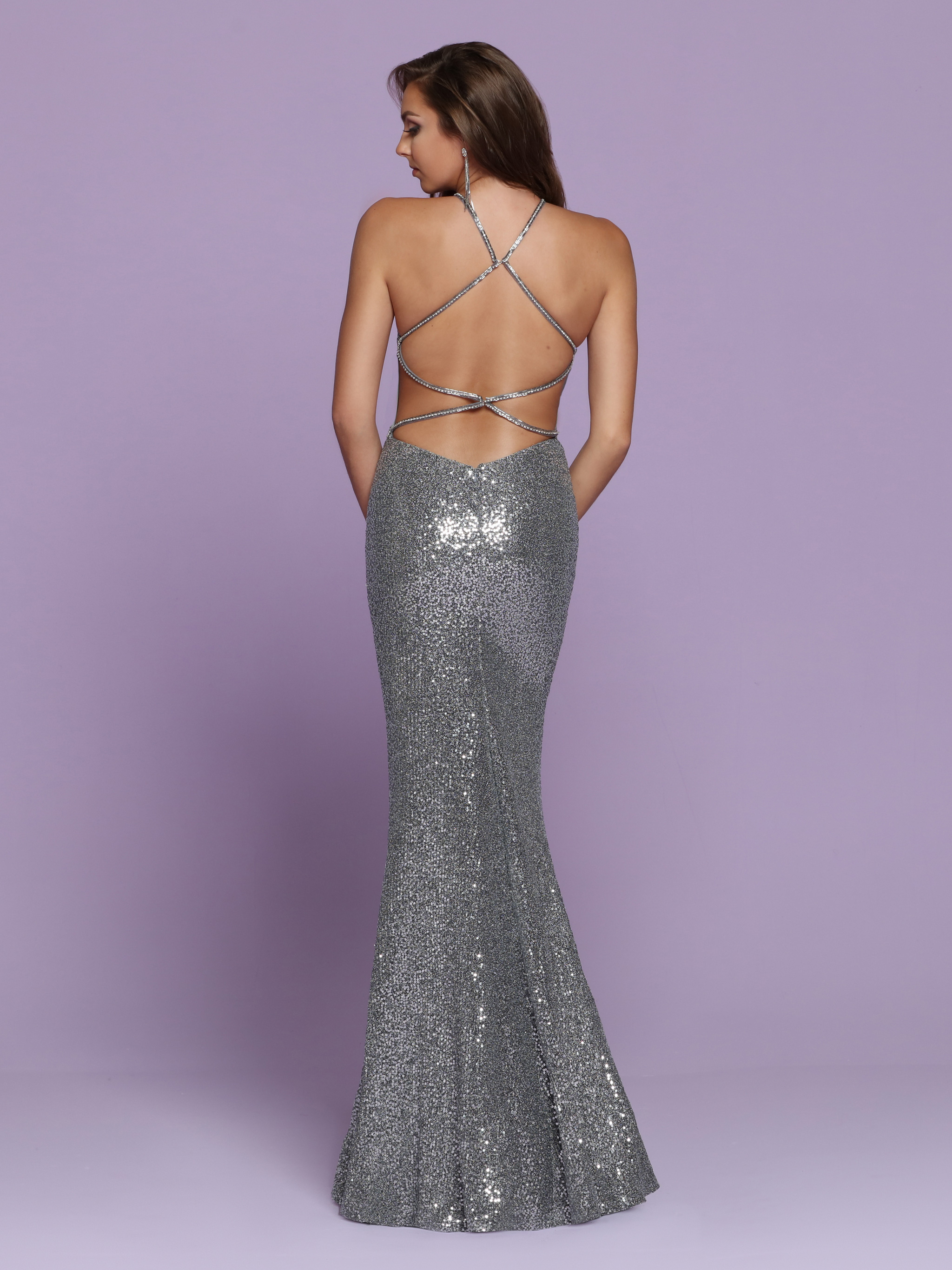 Image showing back view of style #72048