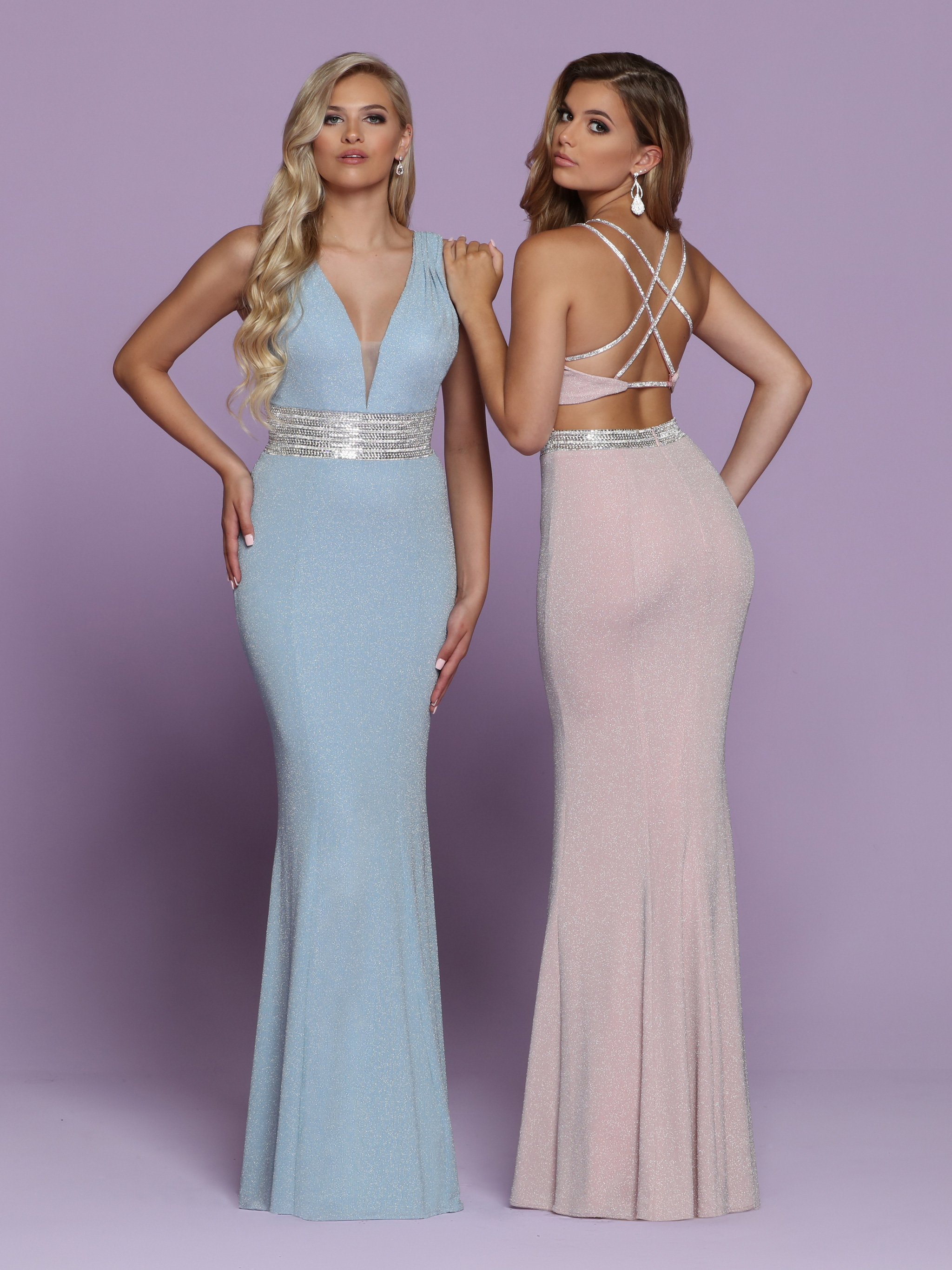 Image showing back view of style #72051