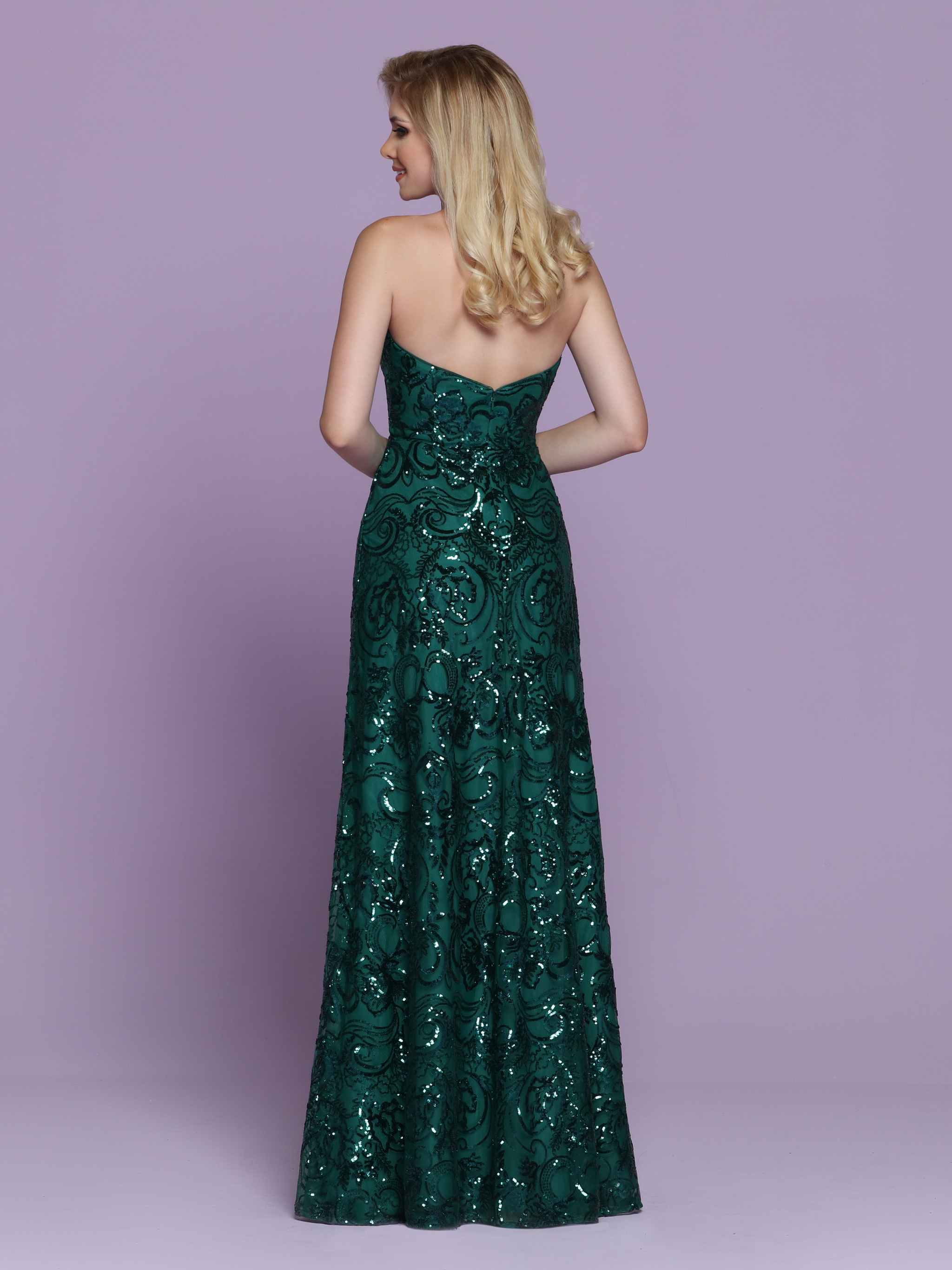 Image showing back view of style #72054