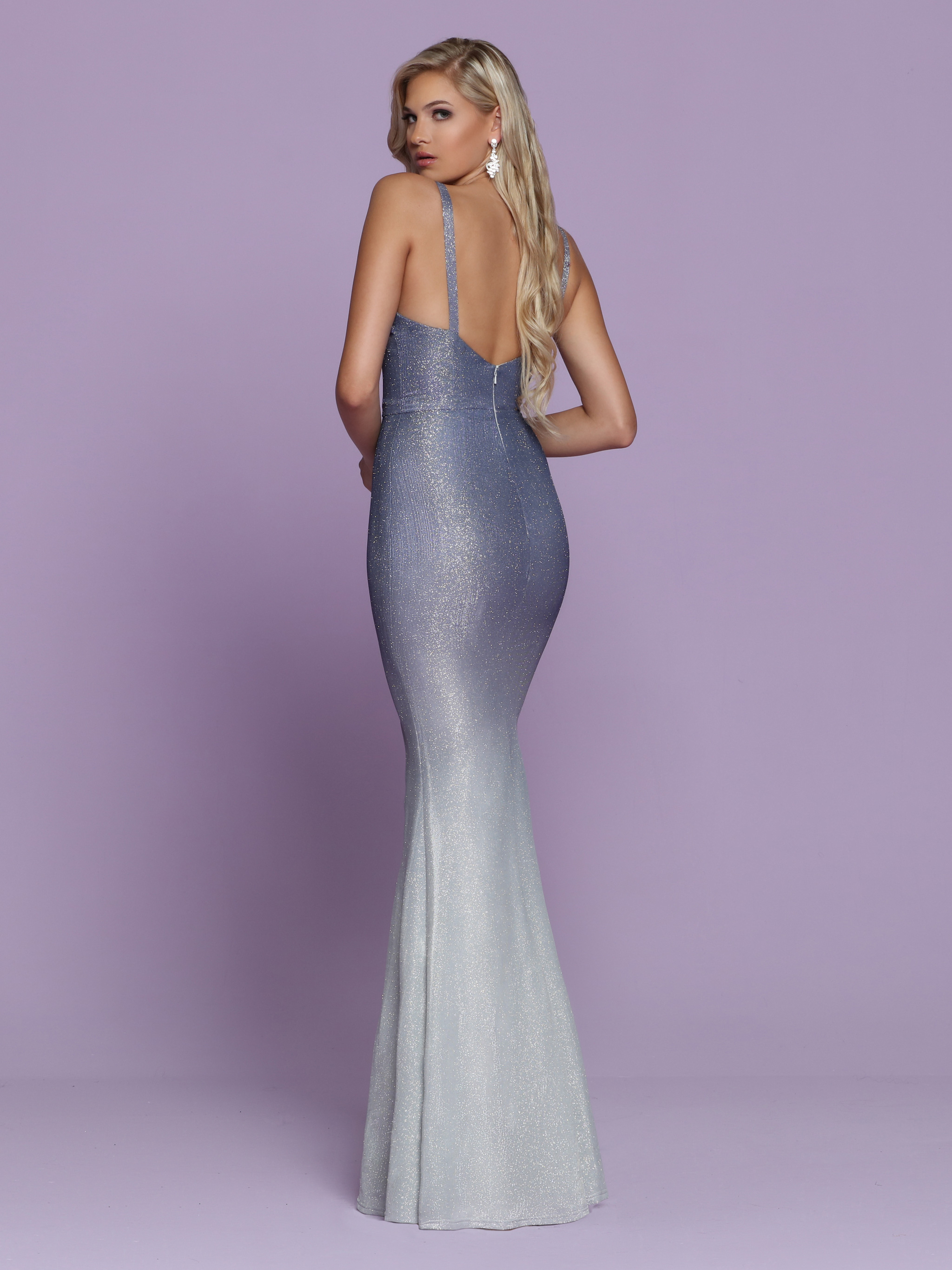 Image showing back view of style #72055