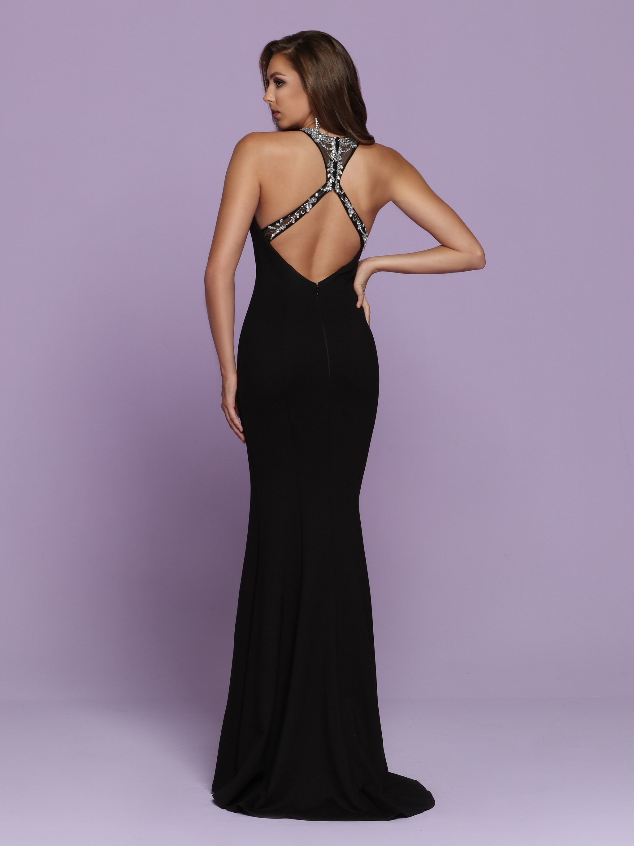 Back view of Style : 72056