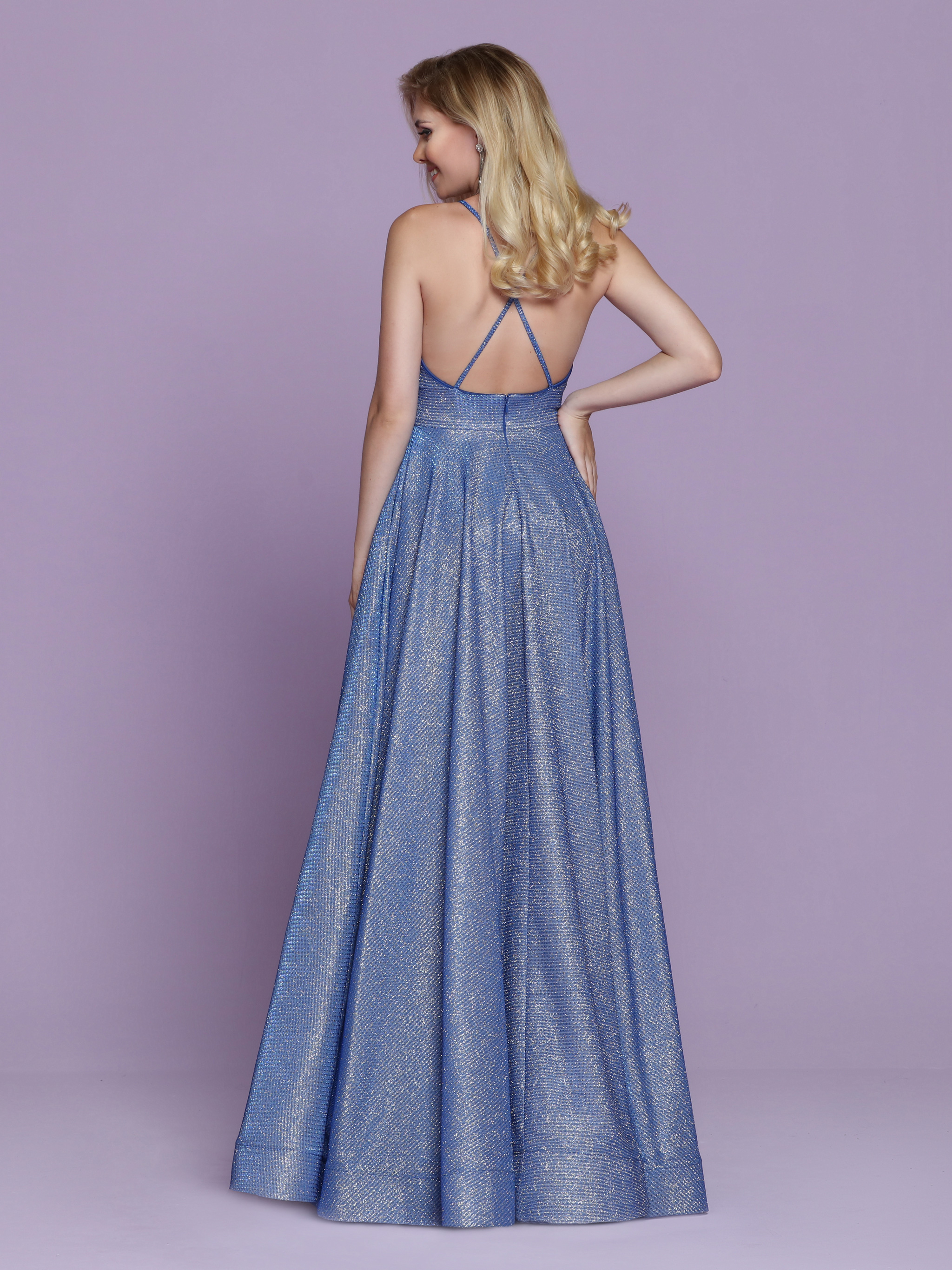 Image showing back view of style #72059