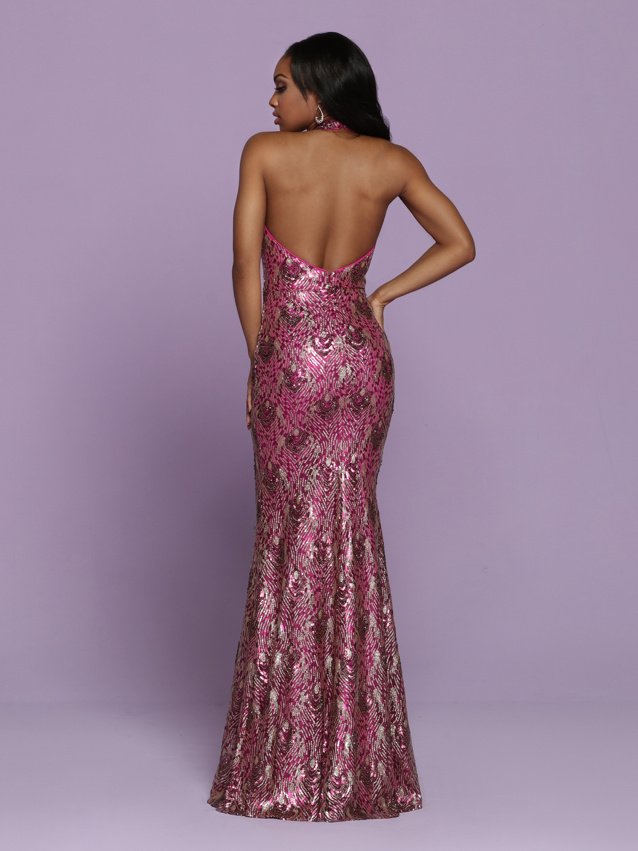 Image showing back view of style #72066
