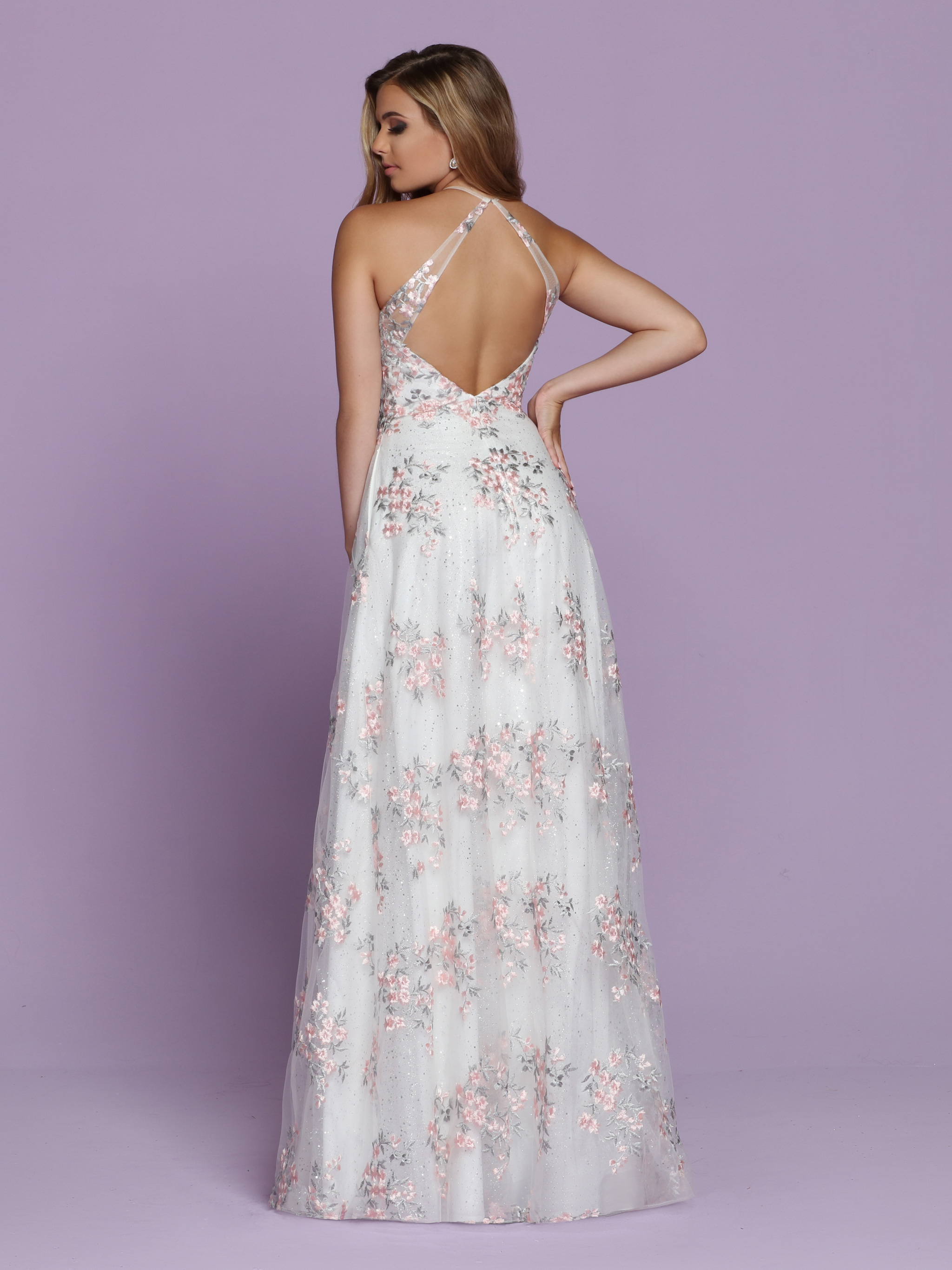 Image showing back view of style #72081