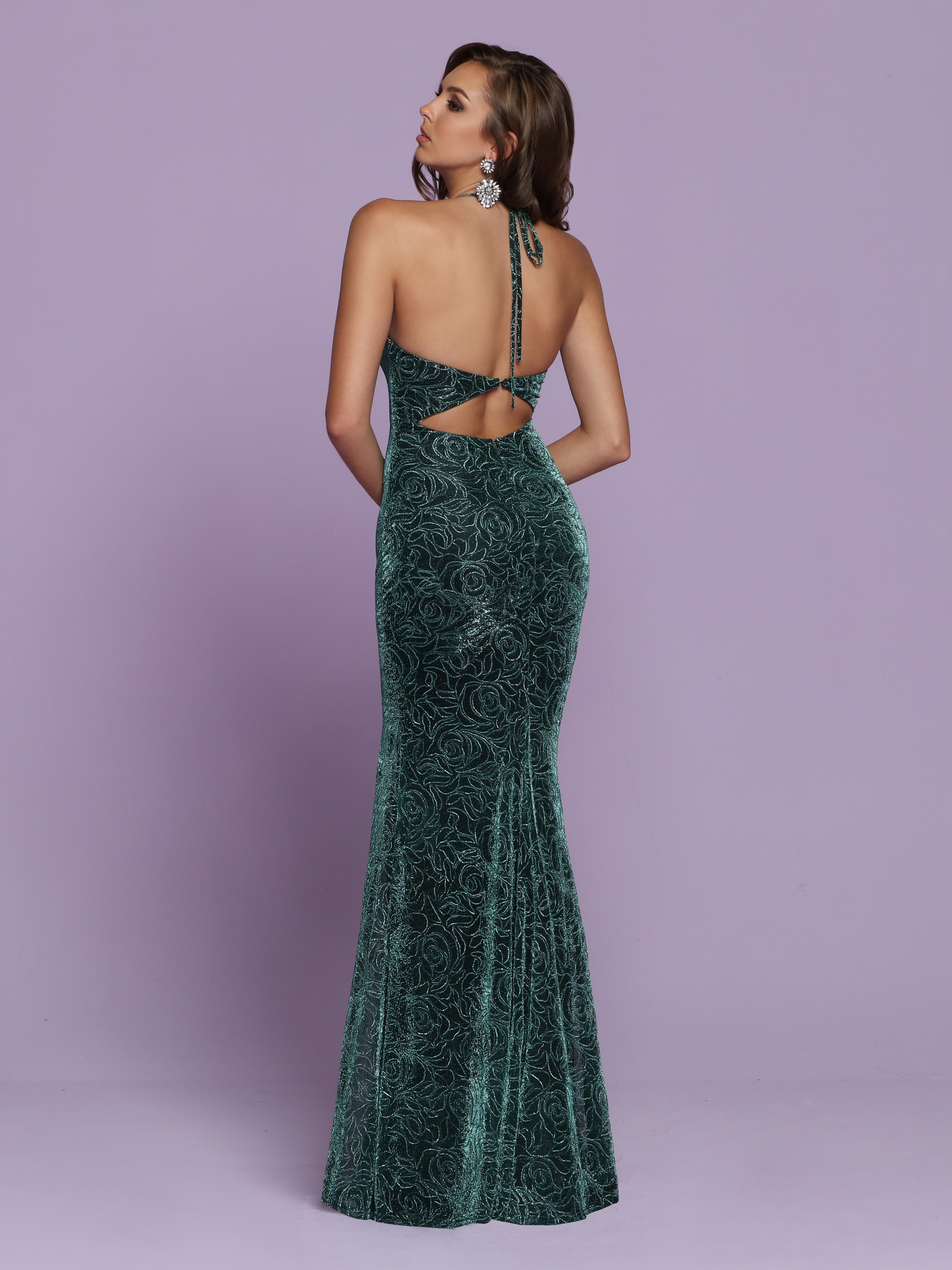 Image showing back view of style #72082