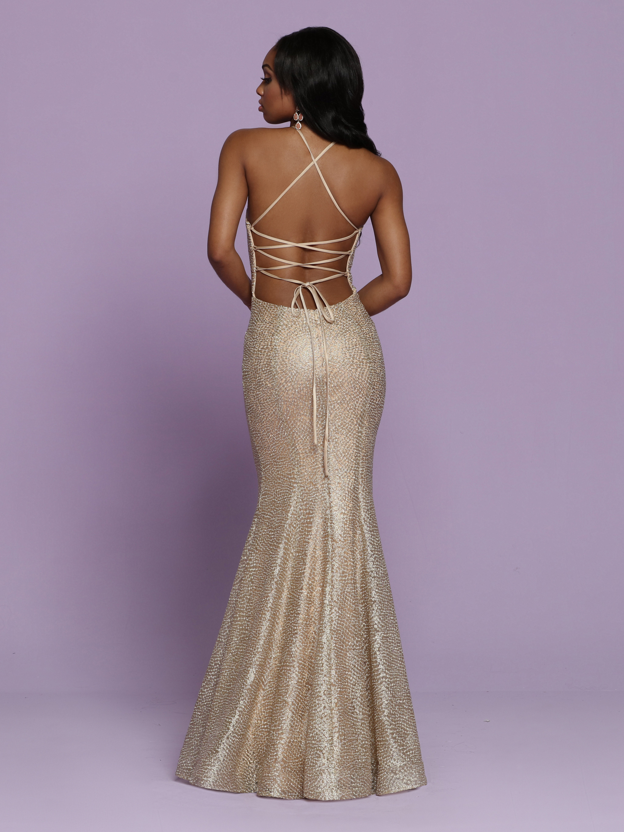 Image showing back view of style #72088