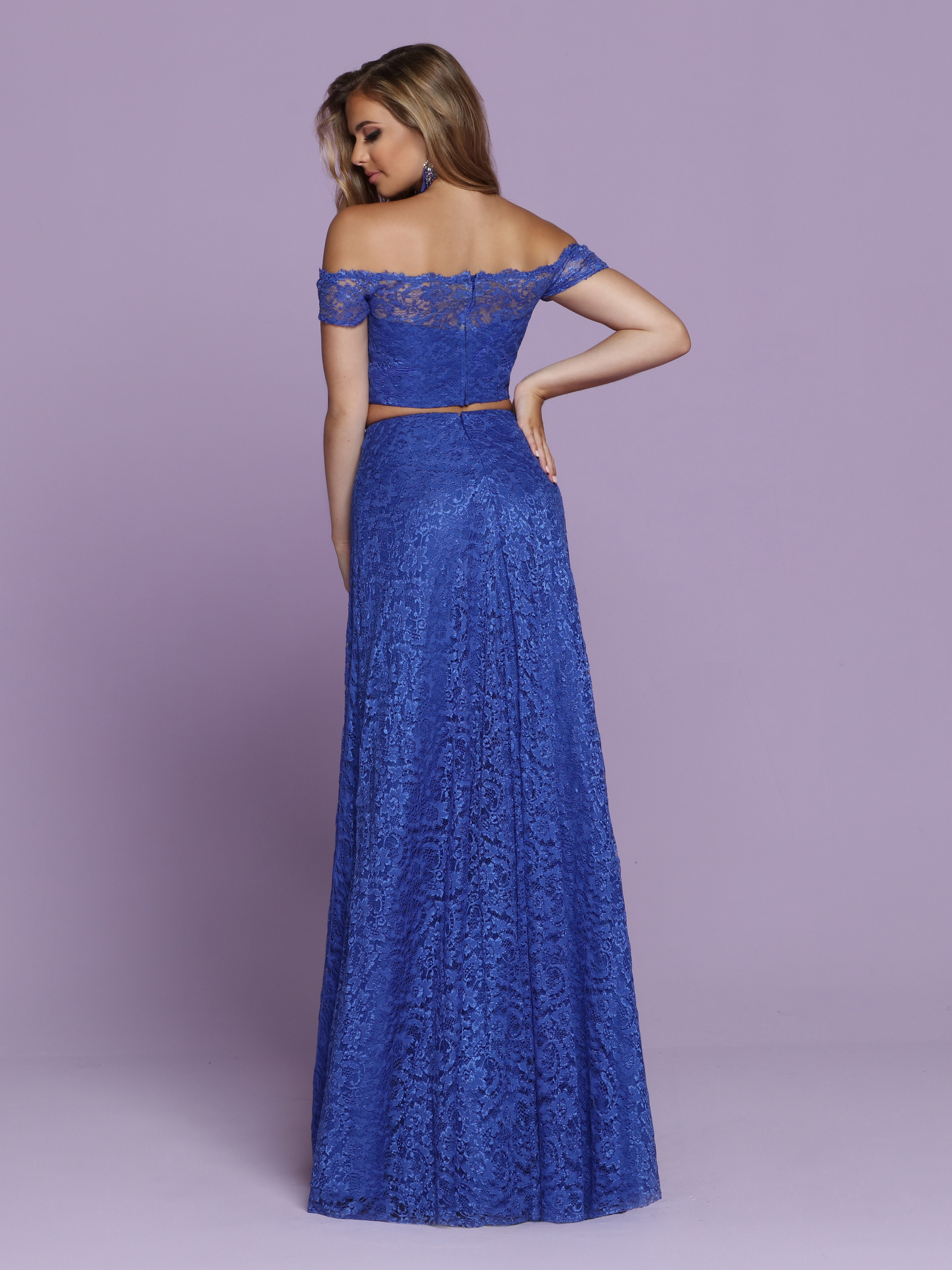 Image showing back view of style #72096