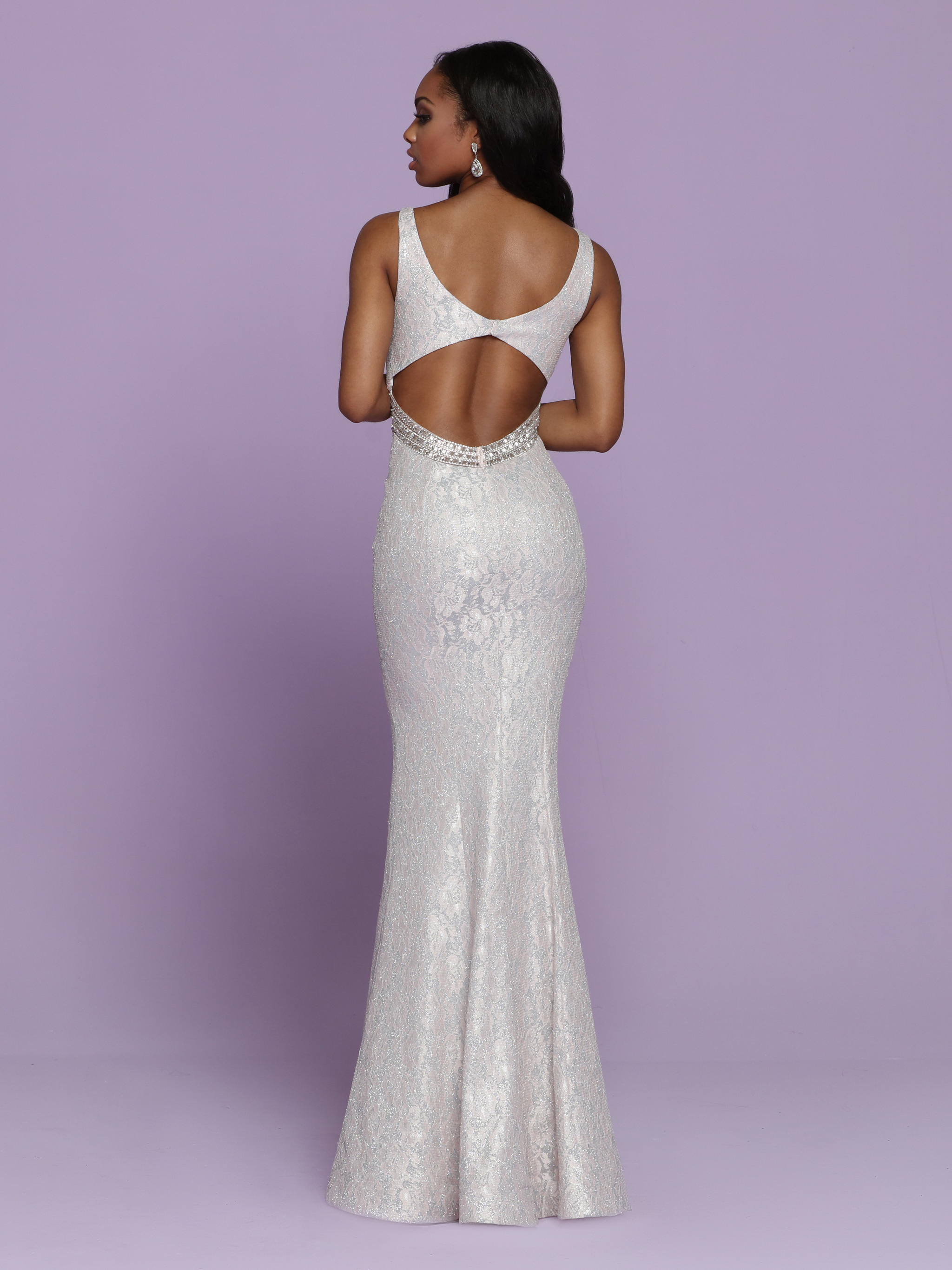 Image showing back view of style #72120