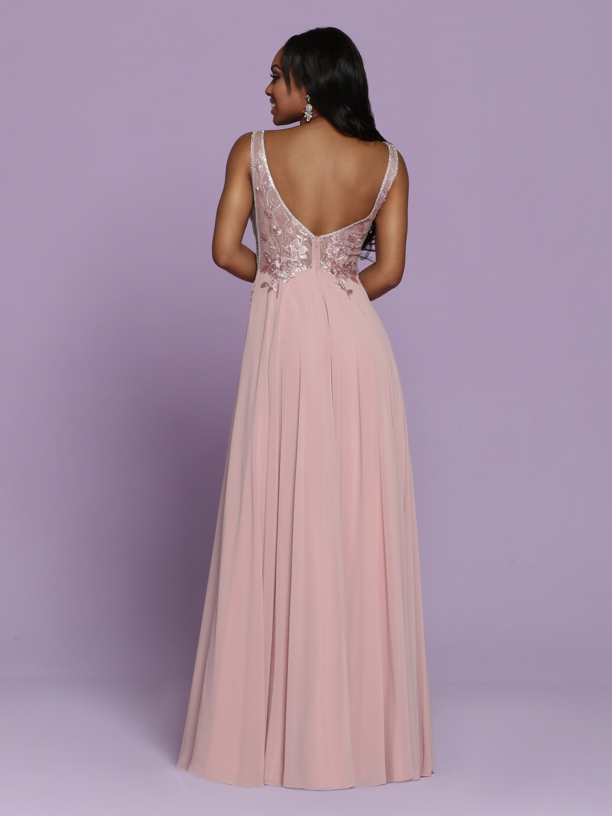 Image showing back view of style #72127