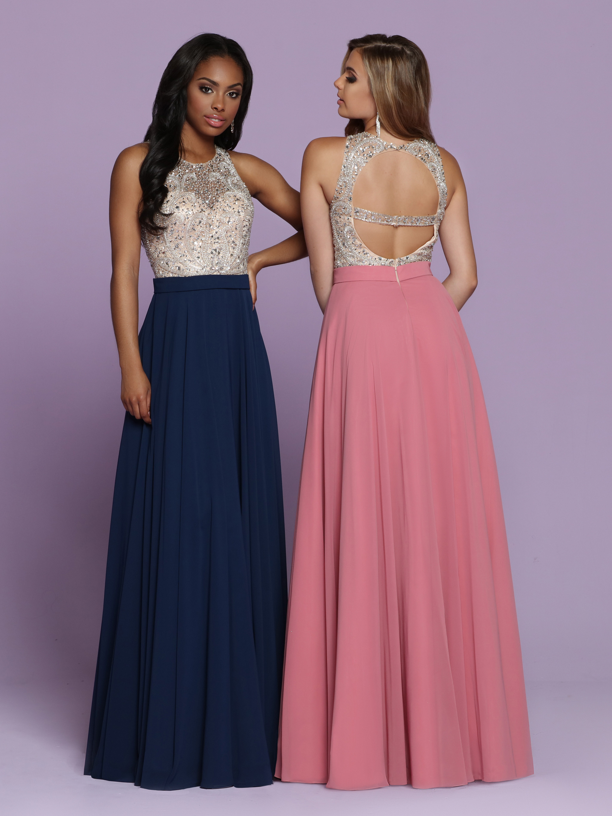 Image showing back view of style #72131