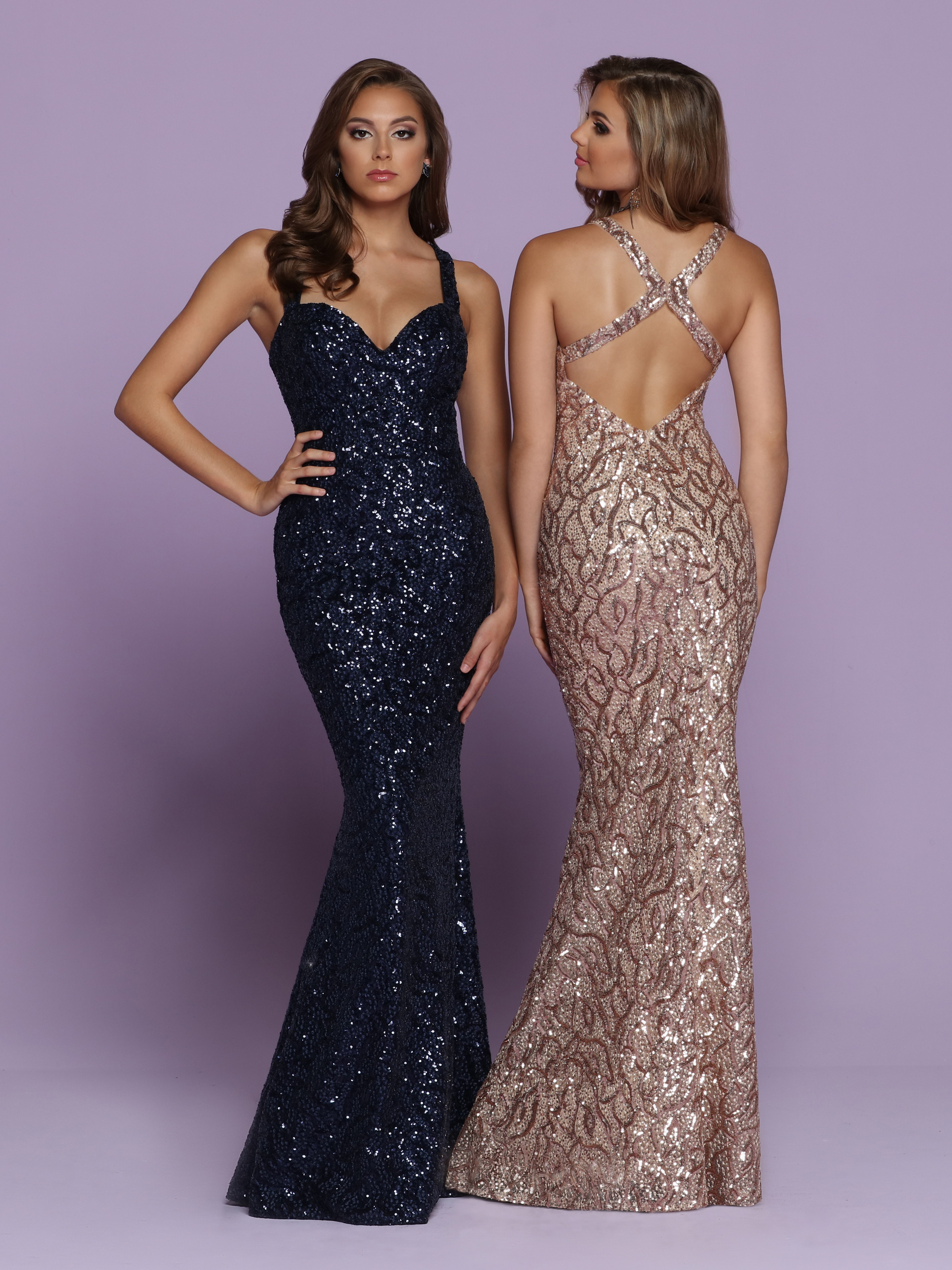 Image showing back view of style #72132