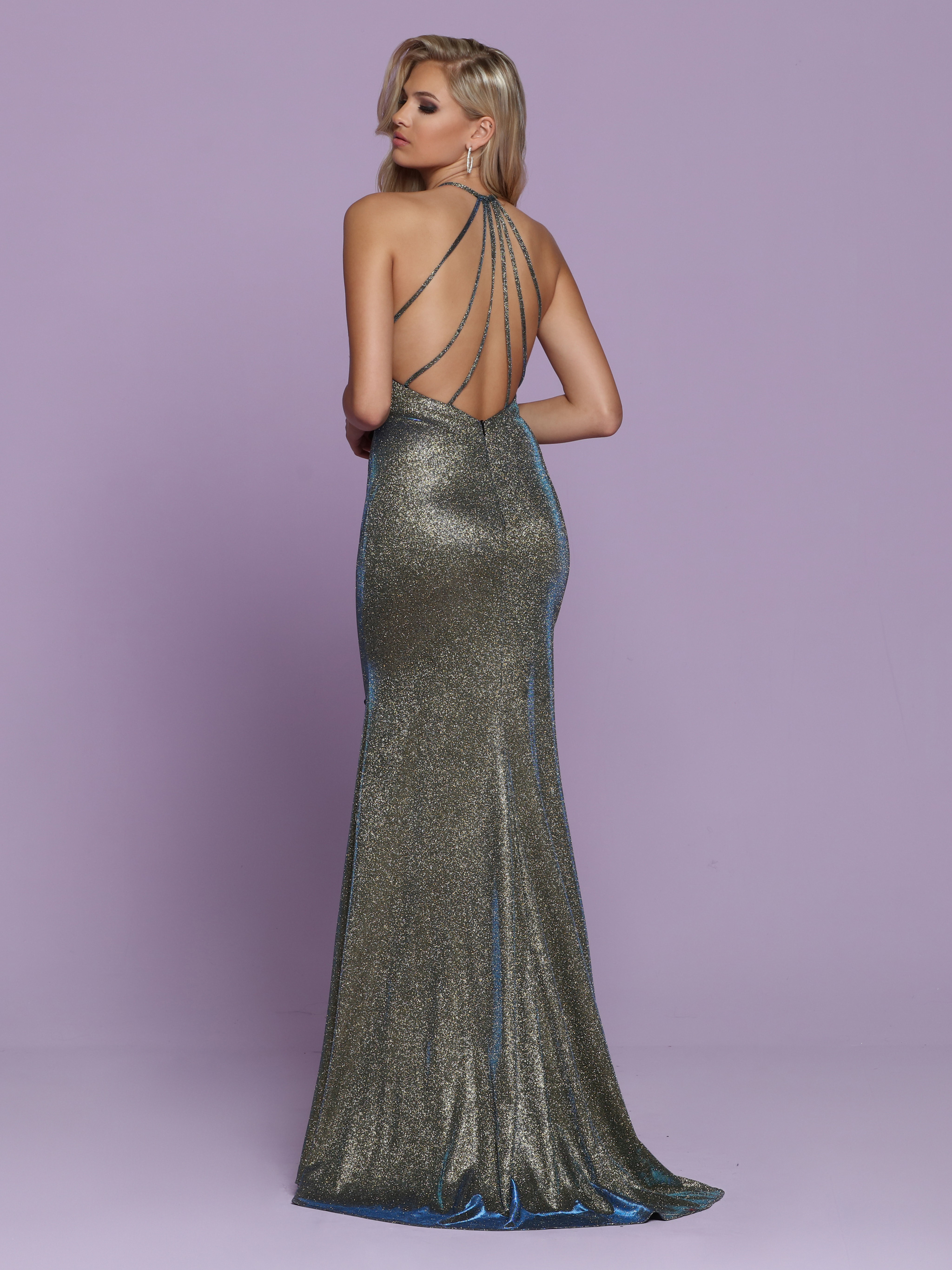 Image showing back view of style #72137