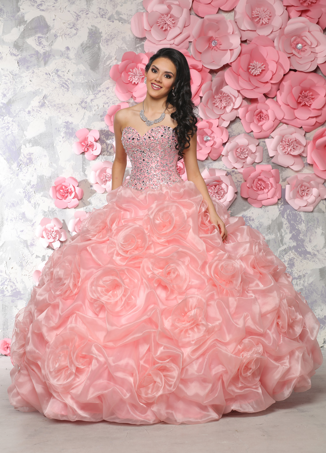 b1d75068c3ad8 Latest Quinceanera Dress Designs for the New Year Dress Vestidos