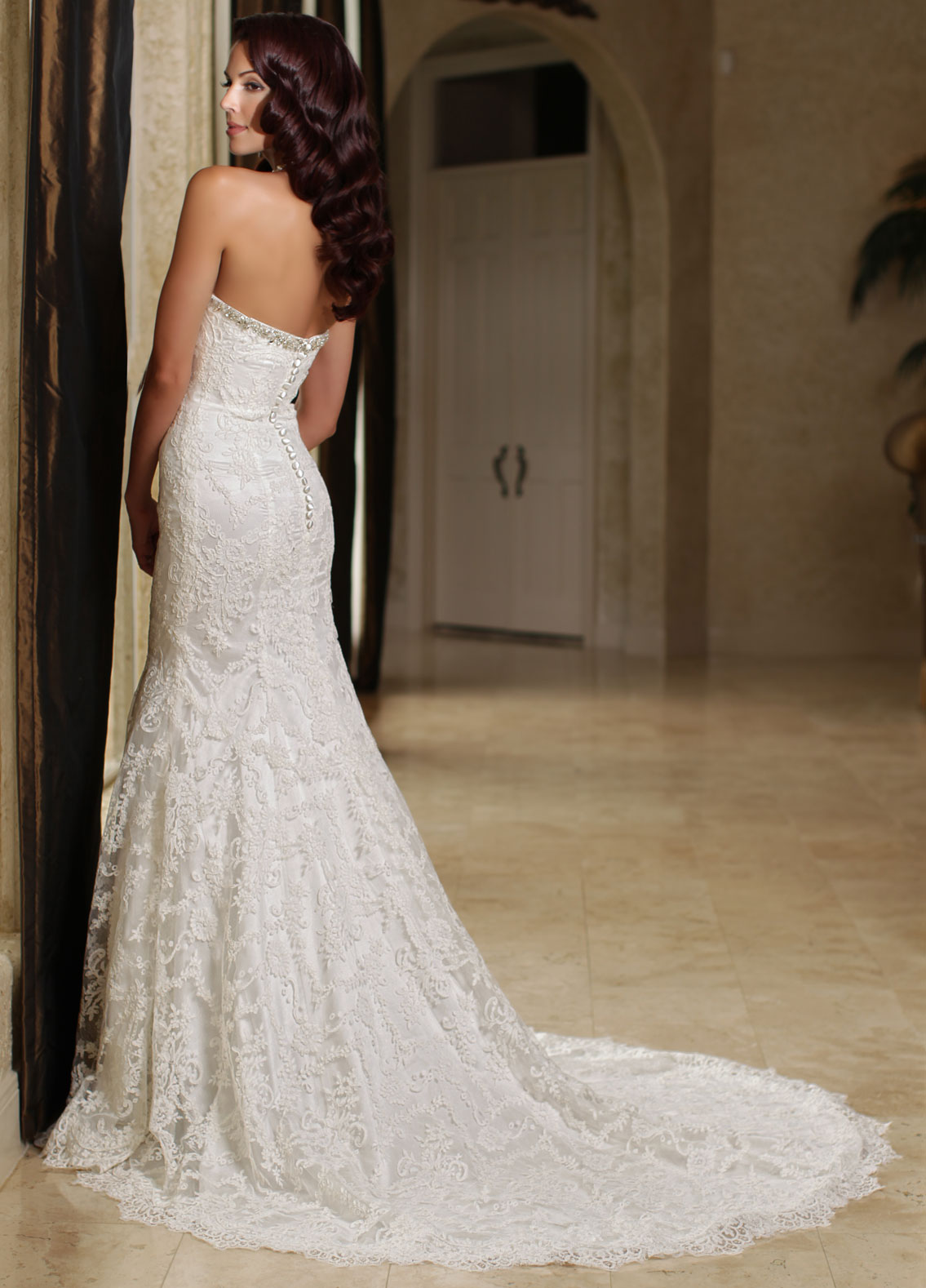 Back view of Style : 50164