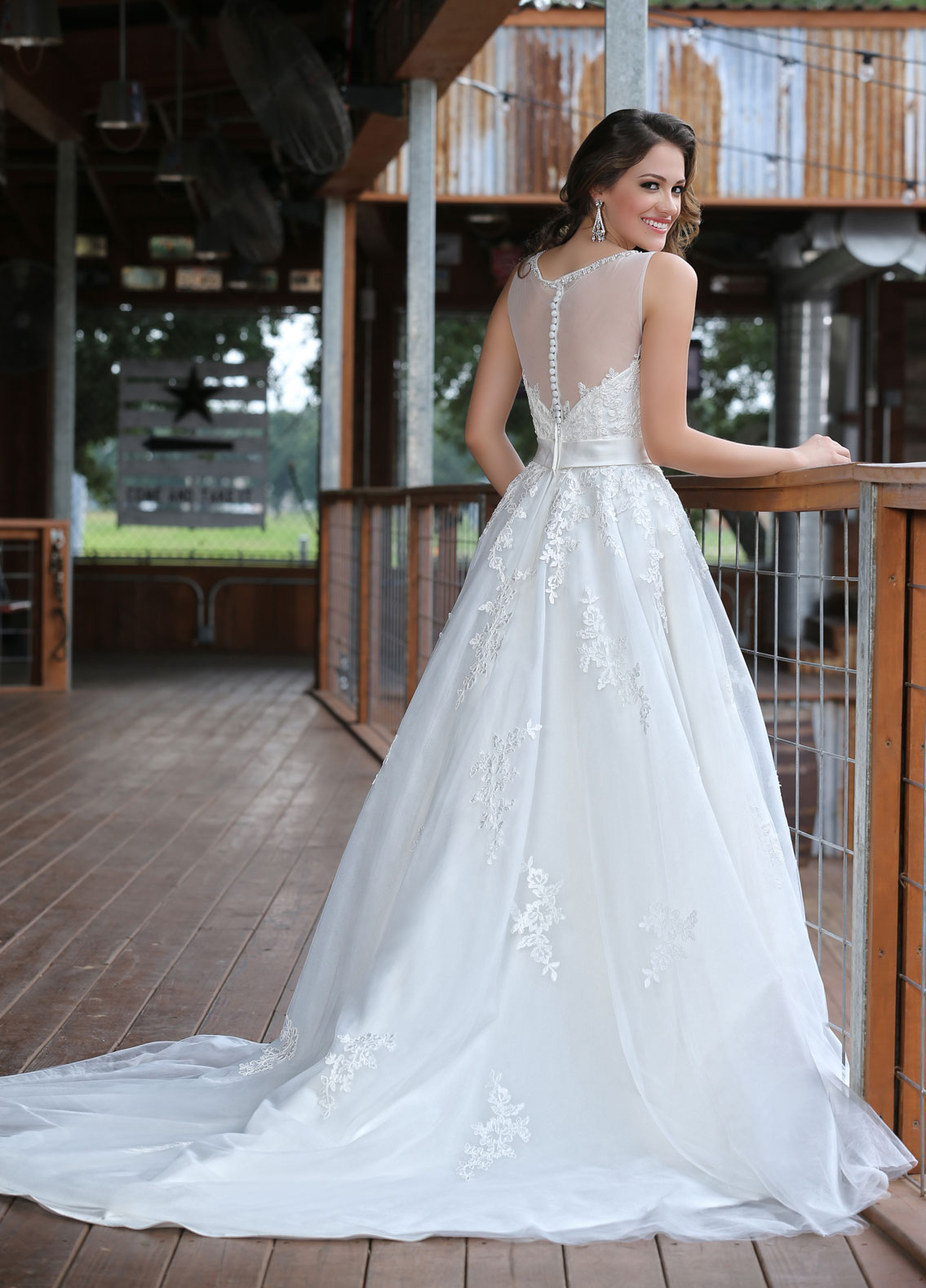 Back view of Style : 50291