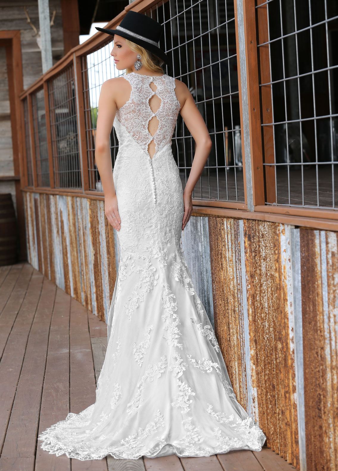 Back view of Style : 50293