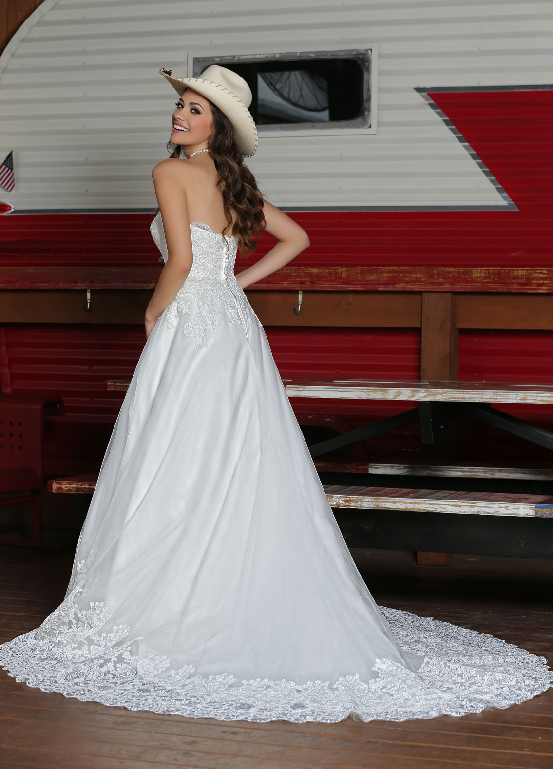 Back view of Style : 50310
