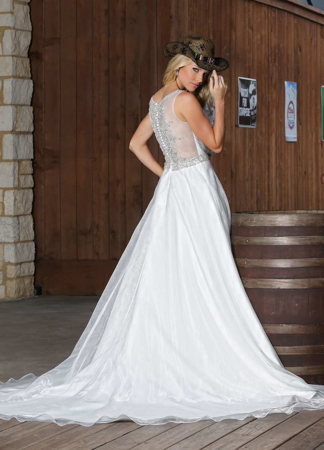 Back view of Style : 50311