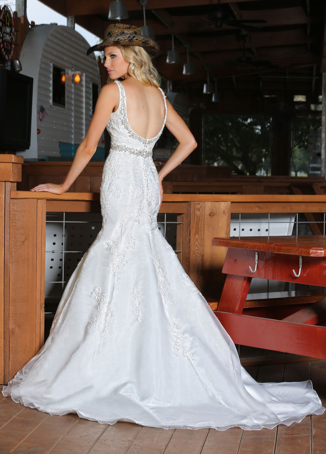 Back view of Style : 50312