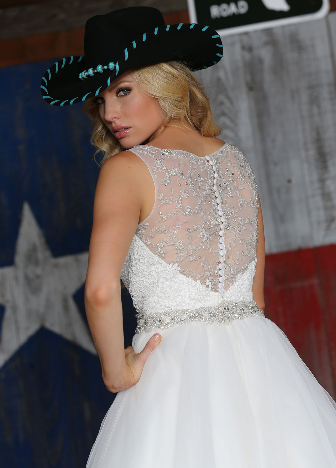 Back view of Style : 50313