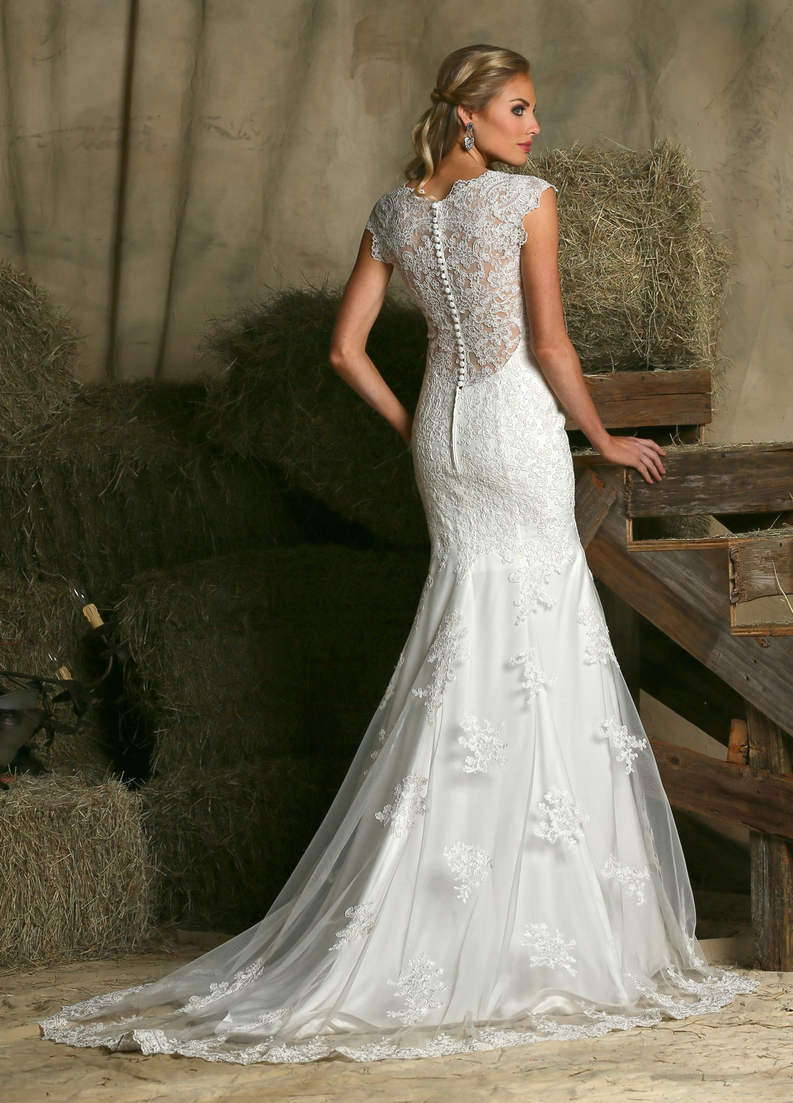 Back view of Style : 50320