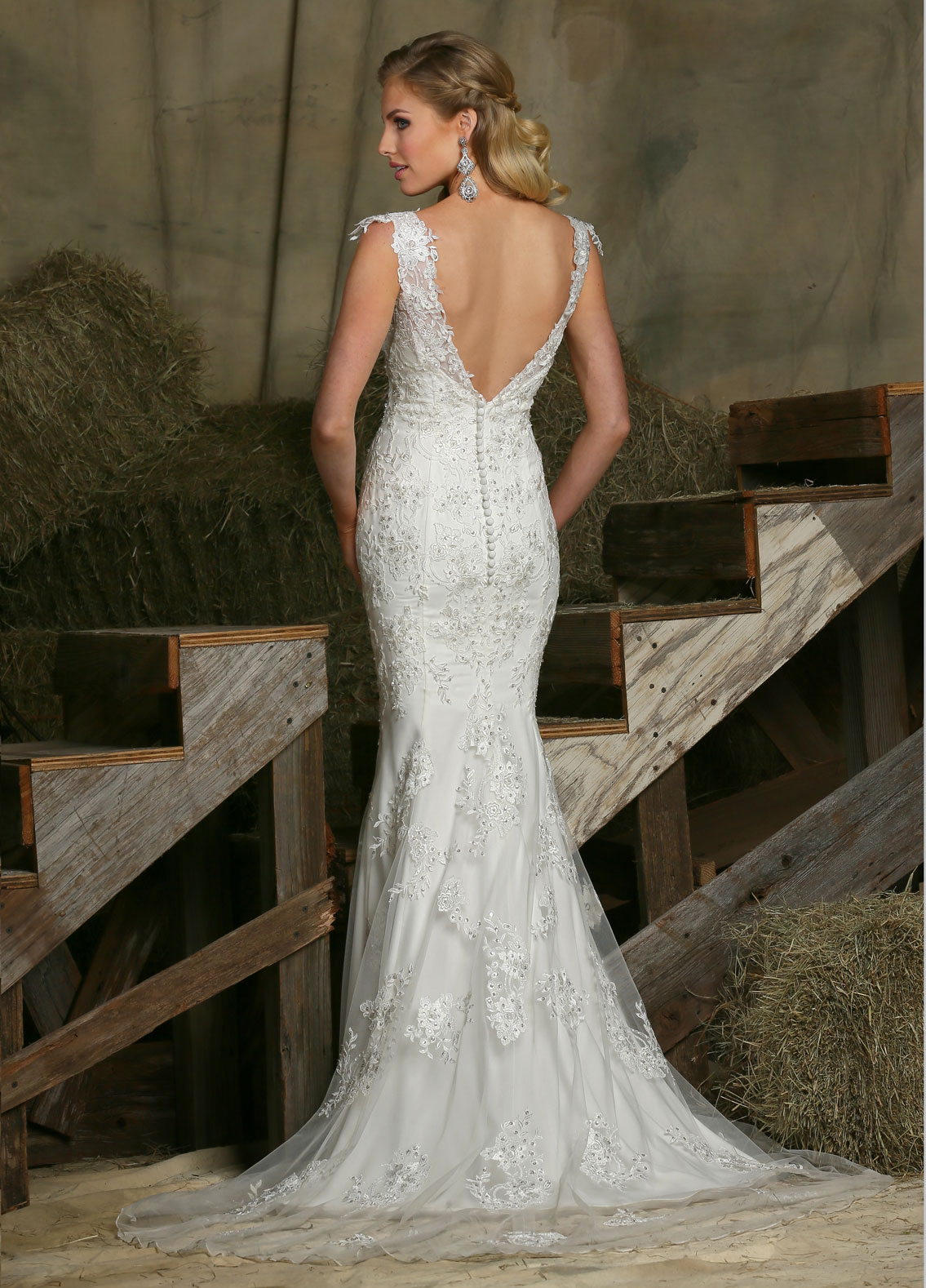 Back view of Style : 50335