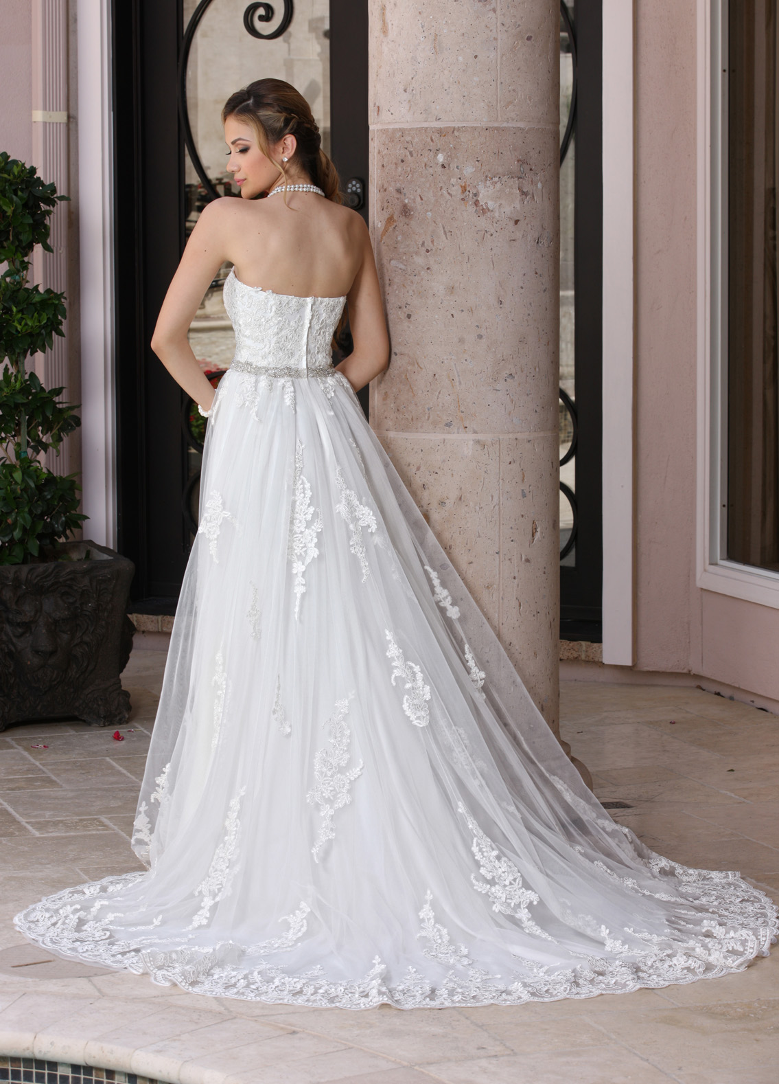 Back view of Style : 50355