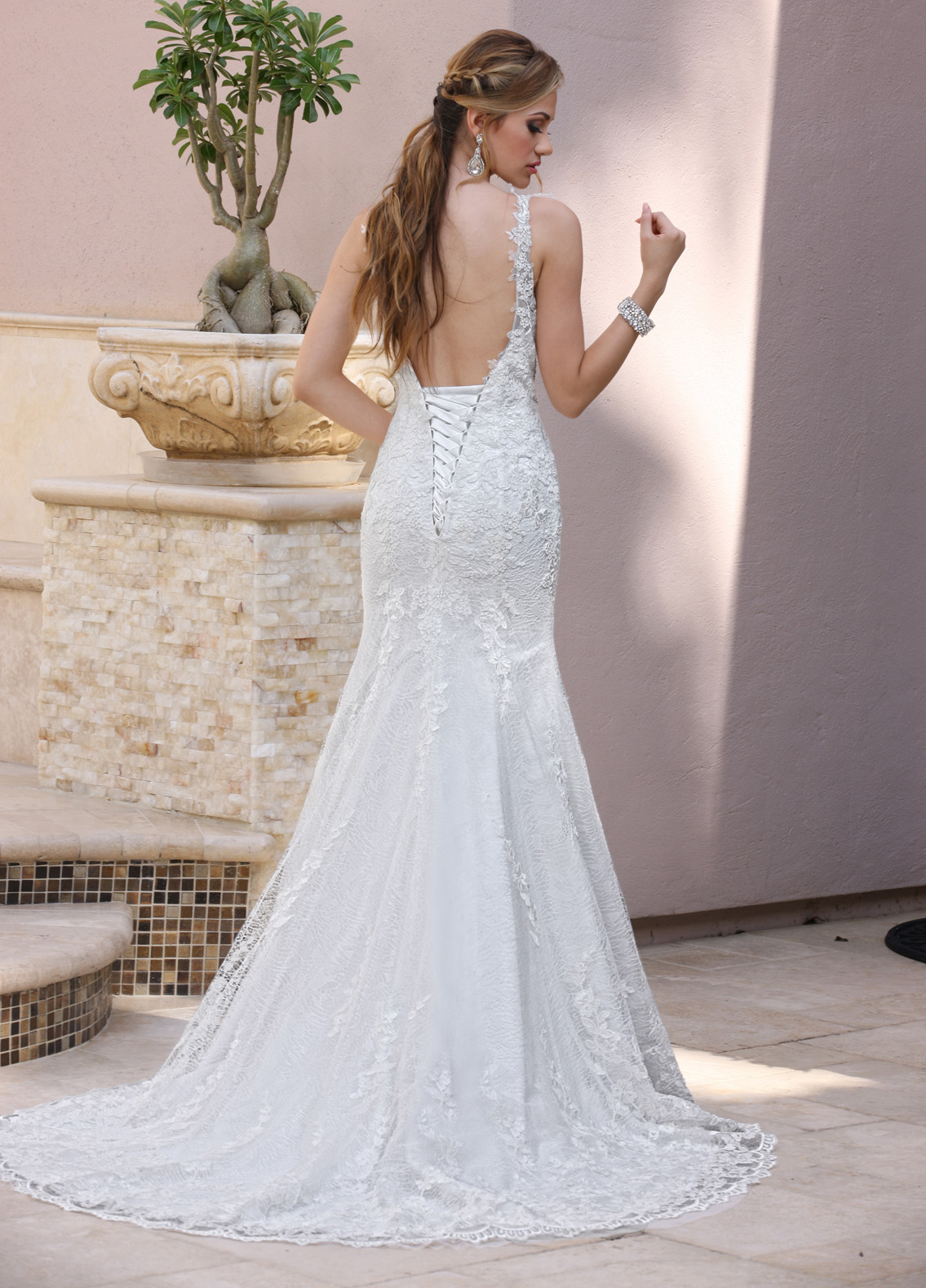 Back view of Style : 50359