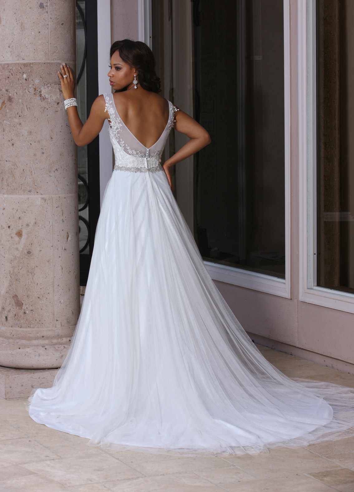 Back view of Style : 50363