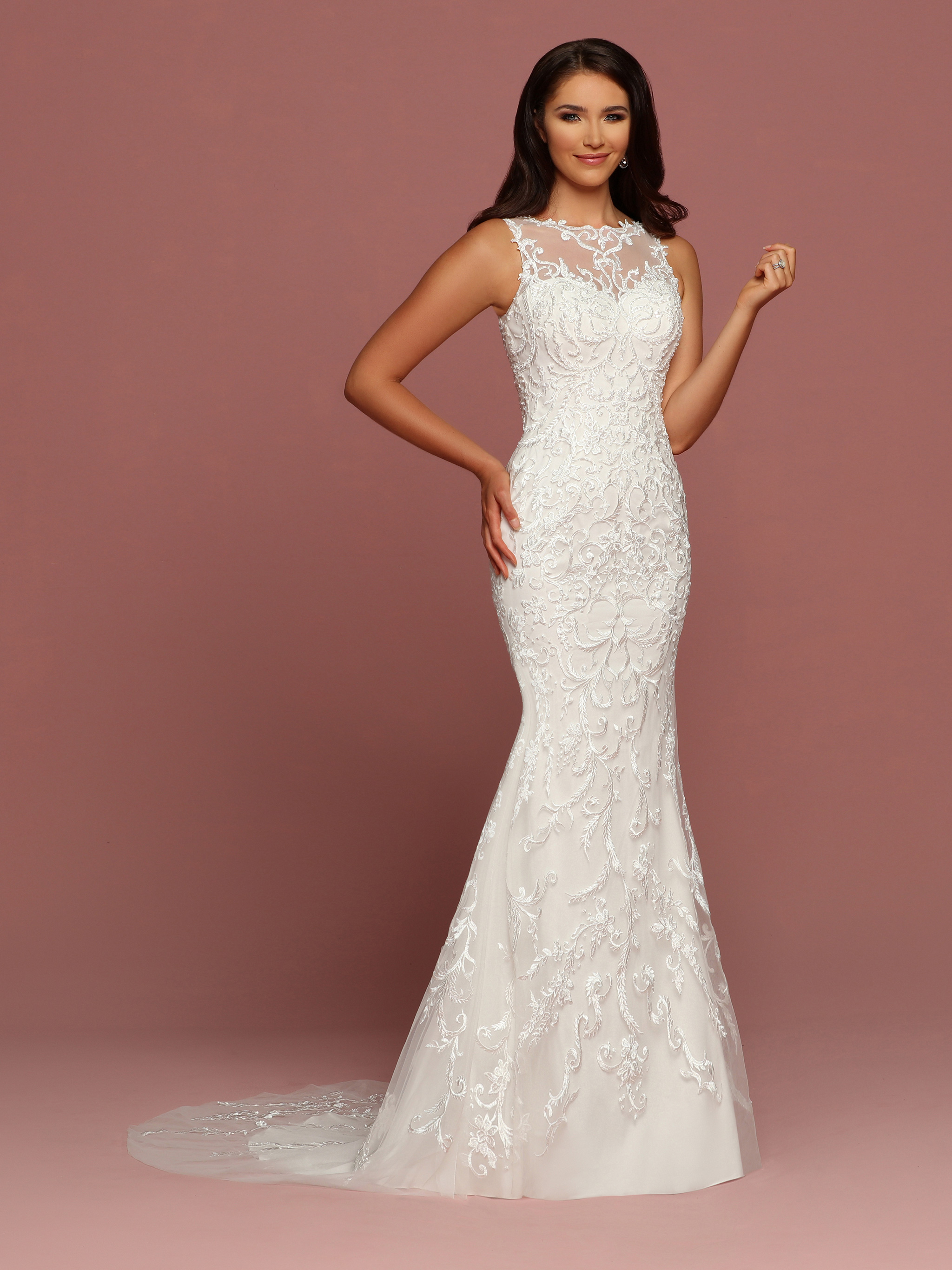 Davinci wedding dresses davinci bridal image showing front view of style 50481 junglespirit