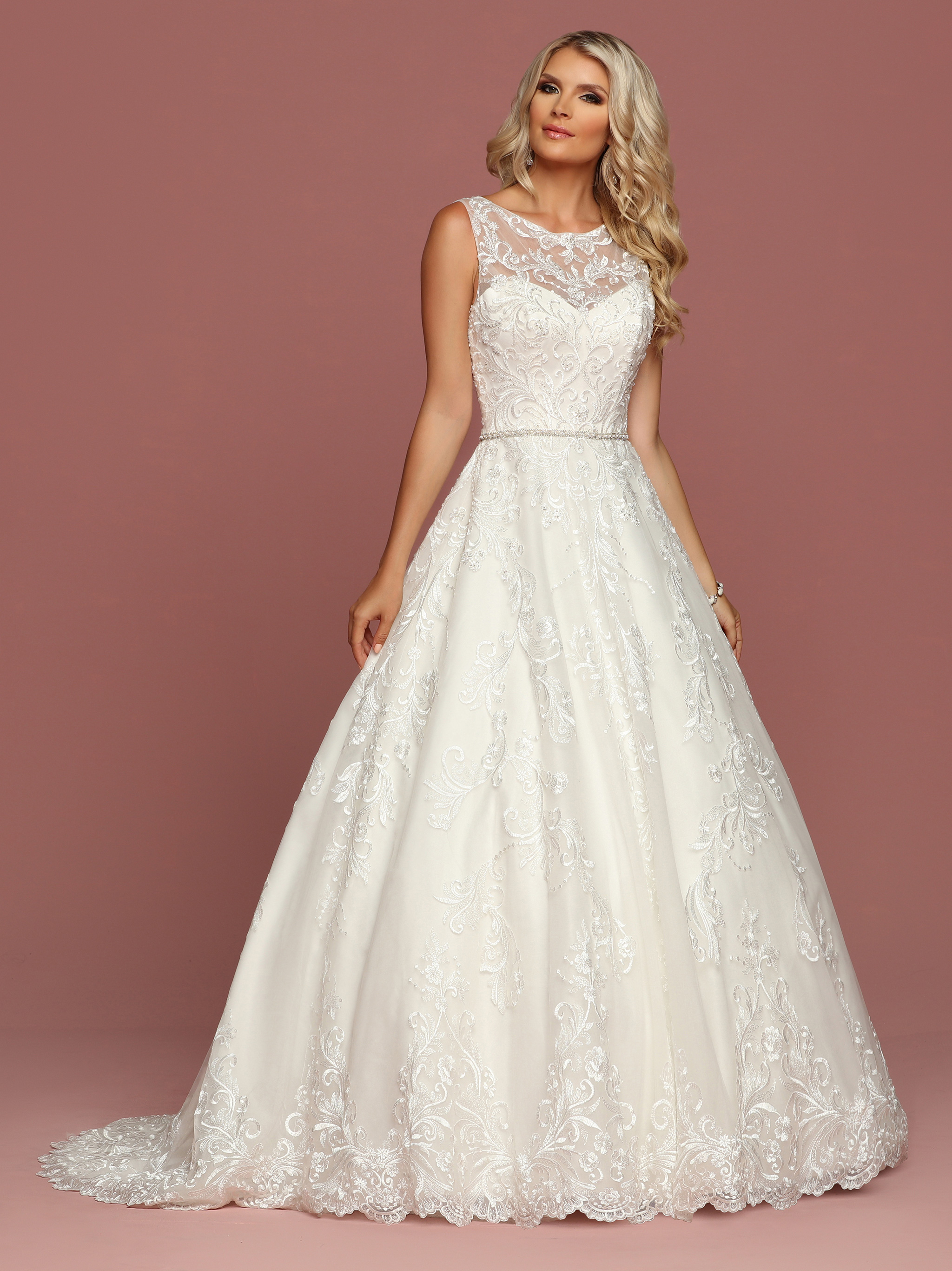 Style 50506 davinci wedding dresses for Picture of a wedding dress