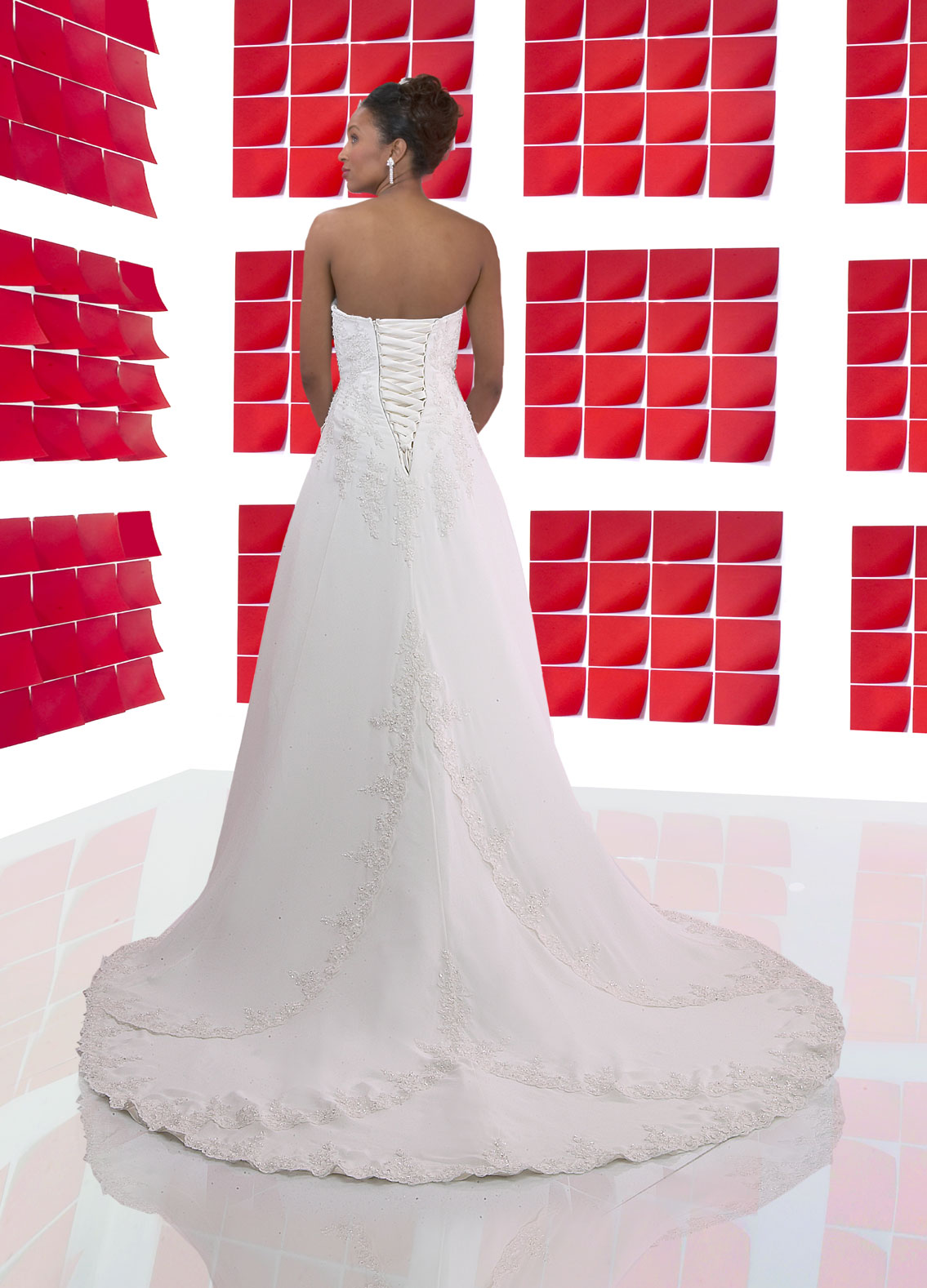 Back view of Style : 8307