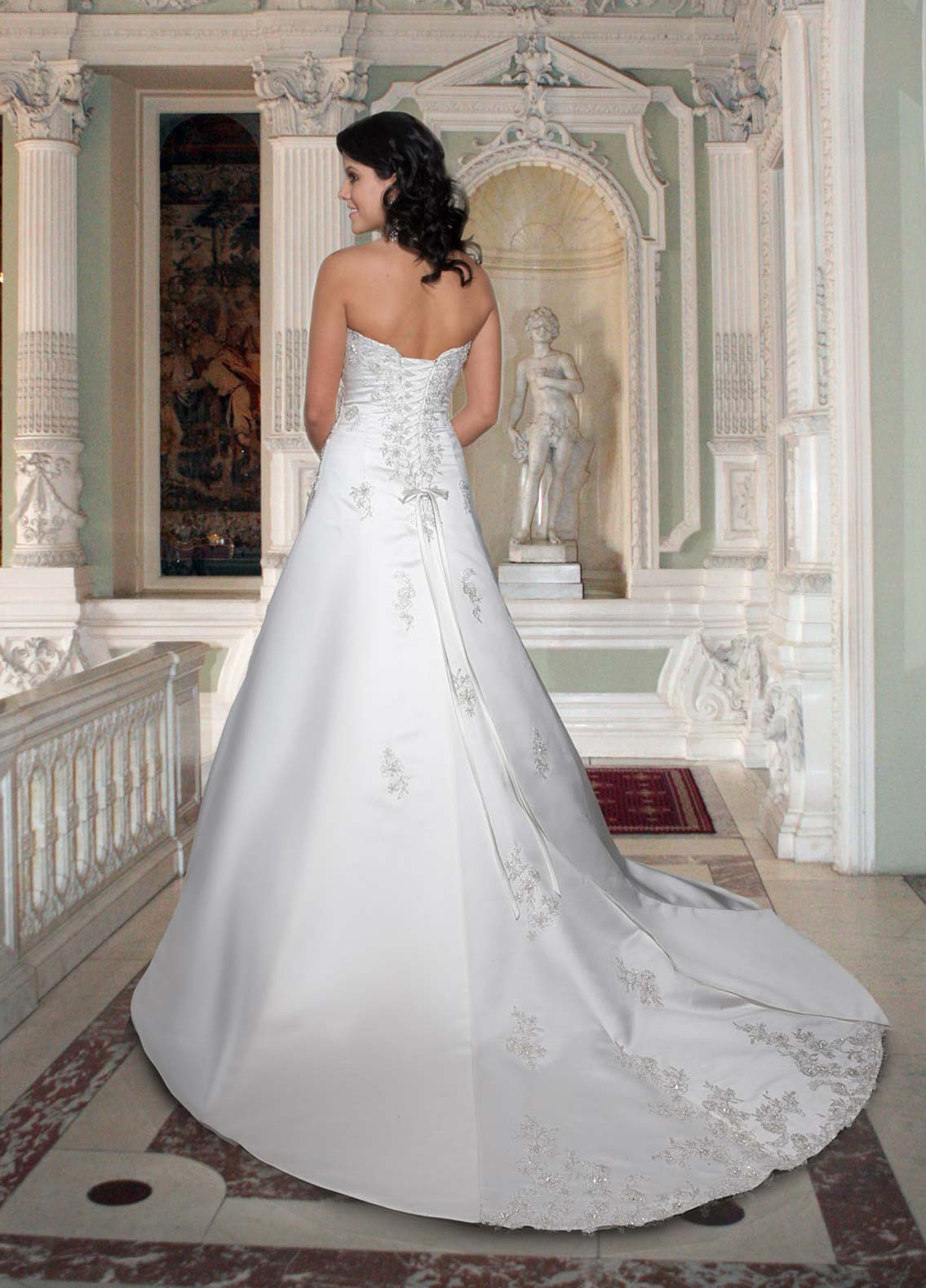 Back view of Style : 8354
