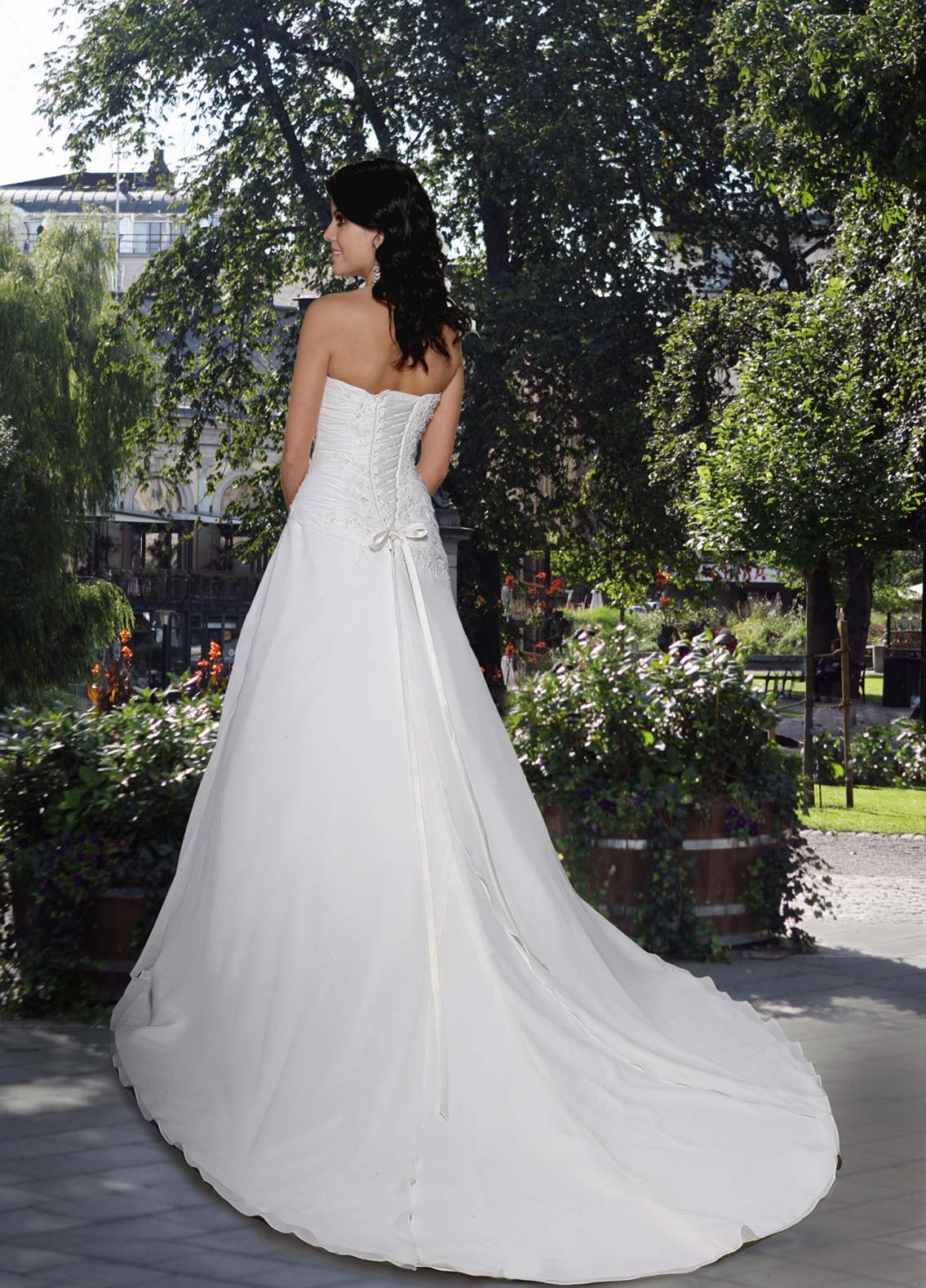 Back view of Style : 8371