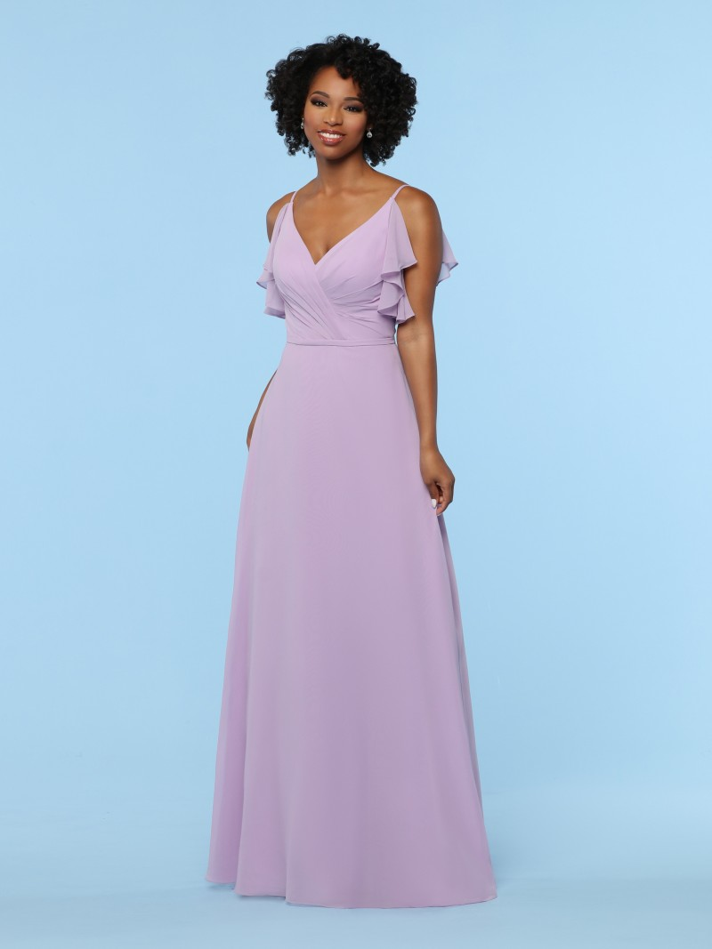b75fc210399b Bling Rose Gold Mermaid Bridesmaid Dresses With Short Sleeve ...